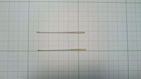 レザークラフト用の針