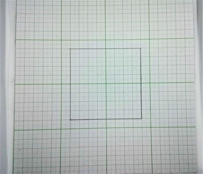 レザークラフトで作るコースターの型紙