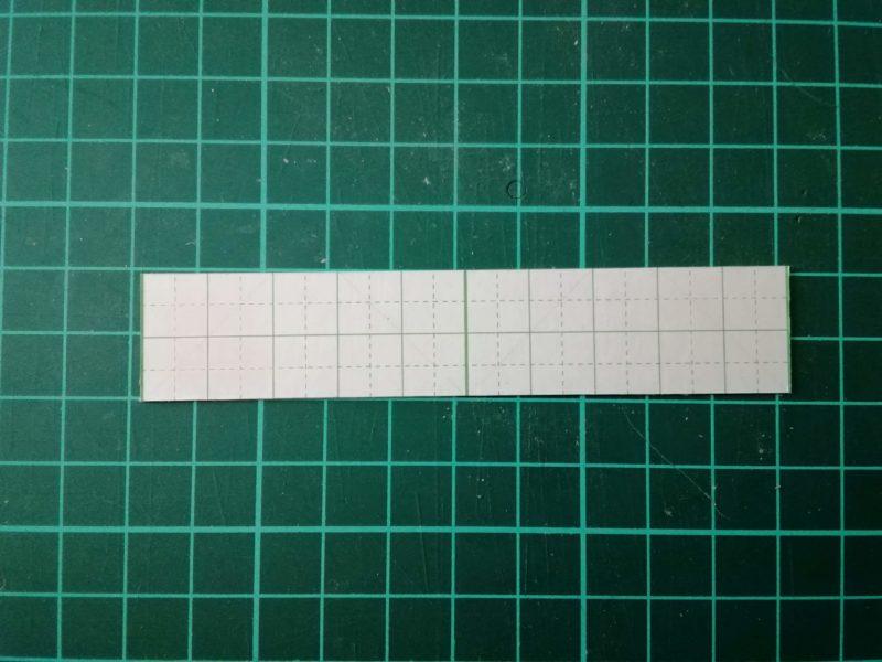 ケーブルクリップの型紙